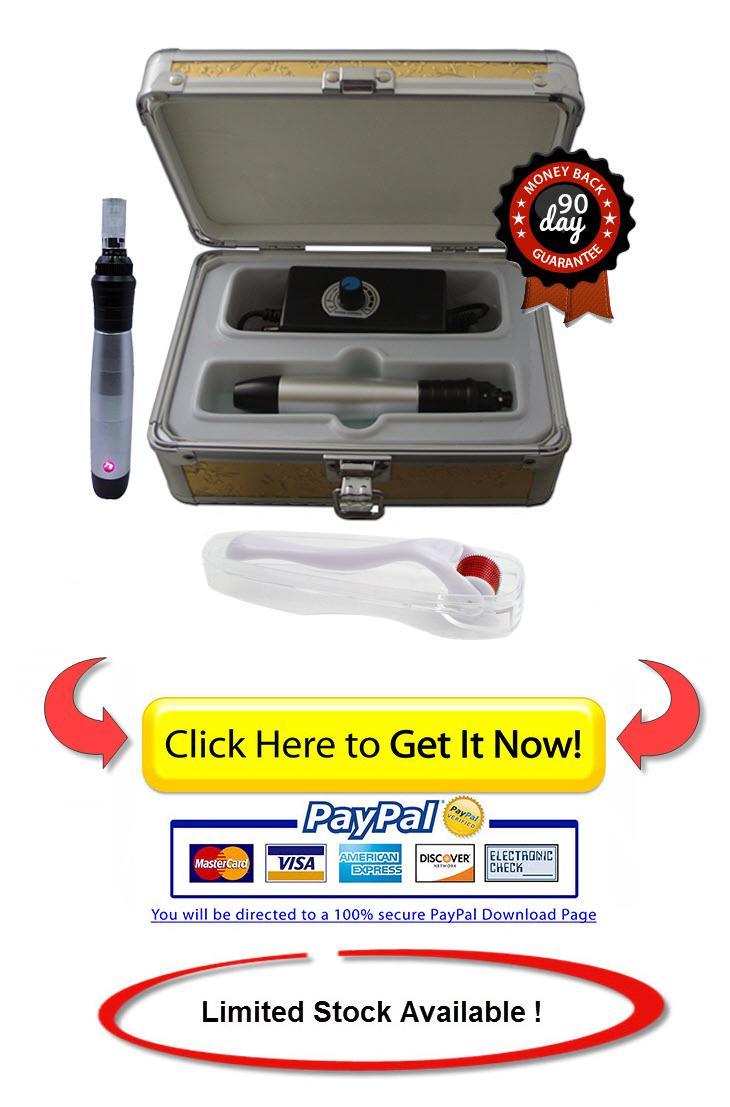 buy microneedle skincare micro needling pen
